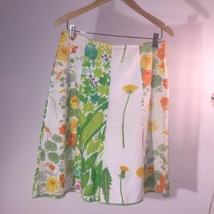 Sweet spring flowery skirt